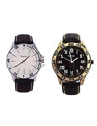 Veens Multicolor Dial Combo Pack Of 2 Boys/Gents/Mens Wrist Watch DW1089 Zt
