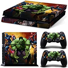 Elton Super-hero Theme 3M Skin Decal Sticker For PS4 Playstation 4 Console Controlle