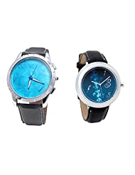 Foster's Men's Blue Dial & Foster's Women's Blue Dial Analog Watch Combo_ADCOMB0002399