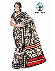 Winza Women's Art Silk Saree (Exclusive Ethnic Desi Art Silk Cotton Bolly Fancy Sarees For Women 6010_Multicolor)