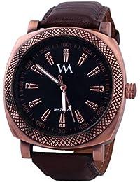 Watch Me Black Men Silicone Swiss Wrist Watch Watch Me-0104x