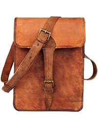 Leather Bag 13'' Stylish Shoulder Messenger Bag /Ipad Bag / Notepad Bag For Boys& Girls By Pranjals House