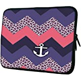 """Snoogg Awesome Chevron 10"""" 10.5"""" 10.6"""" Inch Laptop Notebook Slipcase Sleeve Soft Case Carrying Case For Macbook..."""
