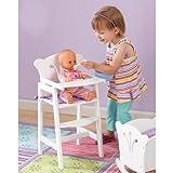 Kid Kraft Kids Children Home Indoor Pretend Play Toy Lil Doll High Chair