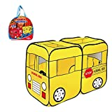 Toys Bhoomi Children's School Bus Play Tent - 100% Safe Polyester Fabric - B017NWS0WW