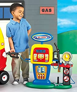 Amazon.com : Kids Play Fill'er Up Gas Station, Kids Play
