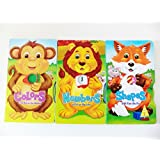 Fun-Sweet-Interesting Childrens Math Learning Series-Numbers-Leo The Lion-Shapes With Finn The Fox A