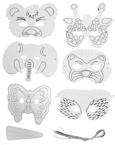 Mask It 50209 Paper Mask Kit, 6-Pieces