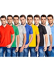 Combo Of 8 Polo T-shirts JUST IN RS.1499