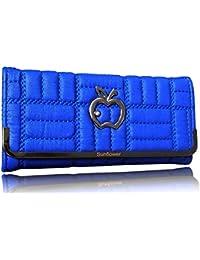 Sn Louis Canvas Blue Women Wallet 659