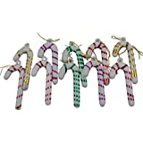 FunRobbers Christmas Decoration Hanging Sticks Small- Pack Of 10