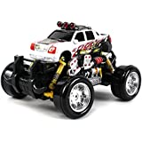Graffiti Cadillac Escalade Ext Remote Control Rc Drift Truck 1:18 Scale 4 Wheel Drive Ready To Run Rtr, Working...