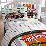 Hot Wheels Full Bed Sheet Set