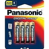 Panasonic LR-03GA/4B Digital Power AAA Alkaline Batteries, 4 Pack
