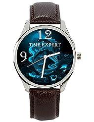 Time Expert Analogue Blue Dial Men's Watch - TE100204