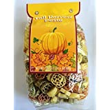 Multi Color Fall Harvest Shaped Pasta 1lb Bag Pumpkins And Leaves Made In Italy