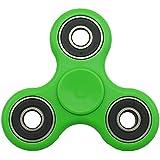 NHR Hand-Held Fidget Tri-Spinner Toy Stress Buster (Green)