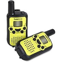 Koolertron Wireless Interphone 22 Channel FRS/GMRS 2 Way Radio 2 Miles (up To 3 Miles) UHF Handheld Walkie Talkies...