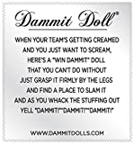 Dammit Doll - Win Dammit Doll - The Showtime - Purple & Gold - Stress Relief - Gag Gift - Sports Teams