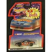 Hot Wheels Racing Special Edition K.B. Toys Barbie Hot Wheels #44 Nascar By Mattel