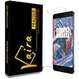 KAIRA Premium HD Tempered Glass Screen Guard Protector For OnePlus 3 One Plus Three / Oneplus 3T / One Plus 3T