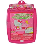 Sanrio Hello Kitty Deluxe Games And Activities Pad With Crayons, 80 Pages