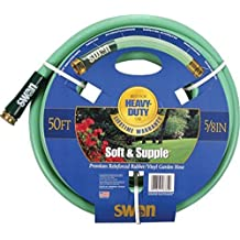 Swan Soft And Supple SNSS58050 5/8-Inch X 50-Foot Green Garden Hose