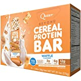 Quest Nutrition Beyond Cereal Protein Bar, Waffle, 15 Count