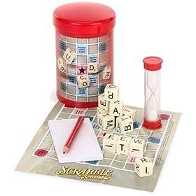 Click to buy Scrabble Scramble from Amazon!