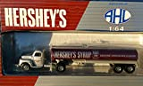 1994 HERSHEY CHOCOLATE SYRUP TANKER Ford F7 Tractor Tank Truck BY Hartoy/AHL inb 1:64 Scale Diecast Metal