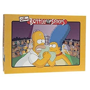Click to buy Battle of the Sexes: Simpsons edition from Amazon!
