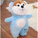 Imported And New Crish Zodiac Dog Plush Toys Stuffed Animals Dog Doll (Skyblue)