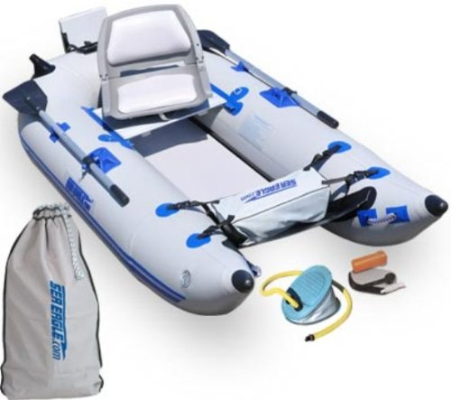 Classic Oswego 10 Inflatable Pontoon: What Are The Best Inflatable Fishing Boats? [Buying Guide