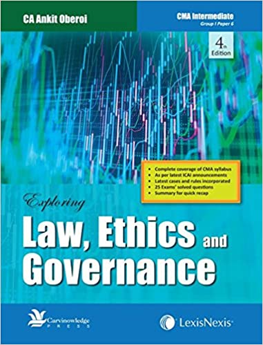 Law, Ethics And Governance Book for CMA Intermediate