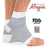 Compression Foot Sleeves - Relief From Foot Pain, Swelling & Edema - Improves Blood Circulation & Provides Achilles...