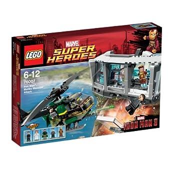 レゴ スーパーヒーローズ アイアンマン™:マリブのマンションアタック 76007