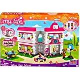 Mega Bloks My Life As Valley High School Play Set