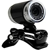 USB 50MP HD Webcam Web Cam Camera With MIC Clip For Laptop Desktop Computer PC
