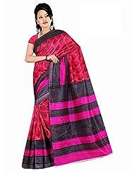 Winza Women Cotton Saree (Exclusive Ethnic Desi Art Silk Cotton Saree Bolly Fancy Saree For Women 1165 _Multicolor...