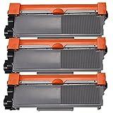 3 Inktoneram Replacement Toner Cartridges For Brother TN-660 TN-630 Toner Cartridge Replacement For Brother TN630...