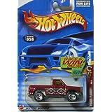 Mattel Hot Wheels 2002 Power Plower #058 Razer Wheels On Race & Win Card