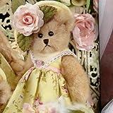 Bearington Teddy Bear Easter Josie Yellow Dressed Bow