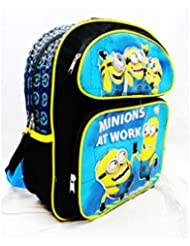 Medium Backpack - Despicable Me - Minions At Work School Bag New Dl20976