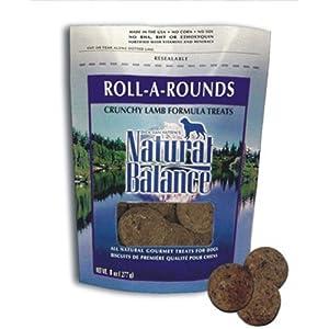 Amazon.com : Roll A Rounds Dog Treat : Natural Balance Dog