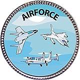 Keepsake Awards Airforce Silver Award Pin