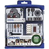 Dremel 710-08 All-Purpose Rotary Accessory Kit, 160-Piece Style: New Set With Reusable Storage Model: 710-08