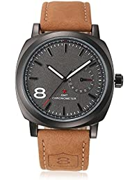 Rjcreation Analogue Black Dial Men'S Watch- Curren Black Dial-01