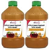 "StBotanica Apple Cider Vinegar With Honey - 500ml - 100% Natural With Goodness Of ""Mother"" Of Vinegar - 2 Bottles"