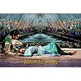 Posterhouzz Poster Mughal-E-Azam - Madhubala And Dilip Kumar Canvas Art