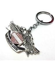 Manakamana_ High Quality Harley Davidson Eagle Logo Keychain